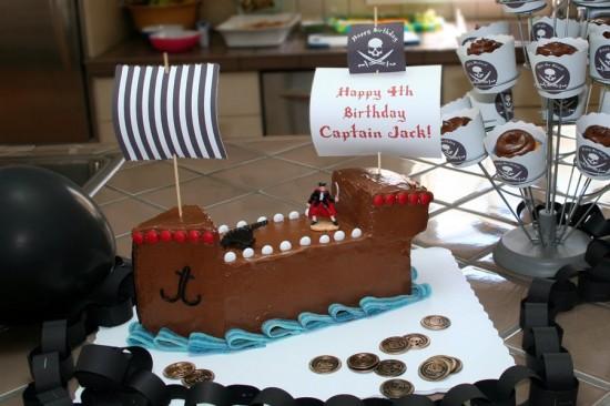 фото торта черный капитан