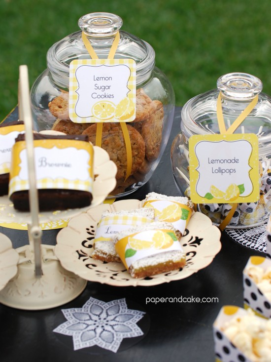 lemonade stand wraps and tags