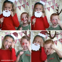 Holiday Printable Photo Booth Props