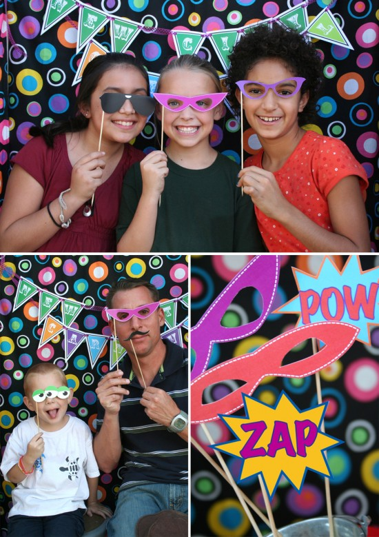 print your own photo booth props