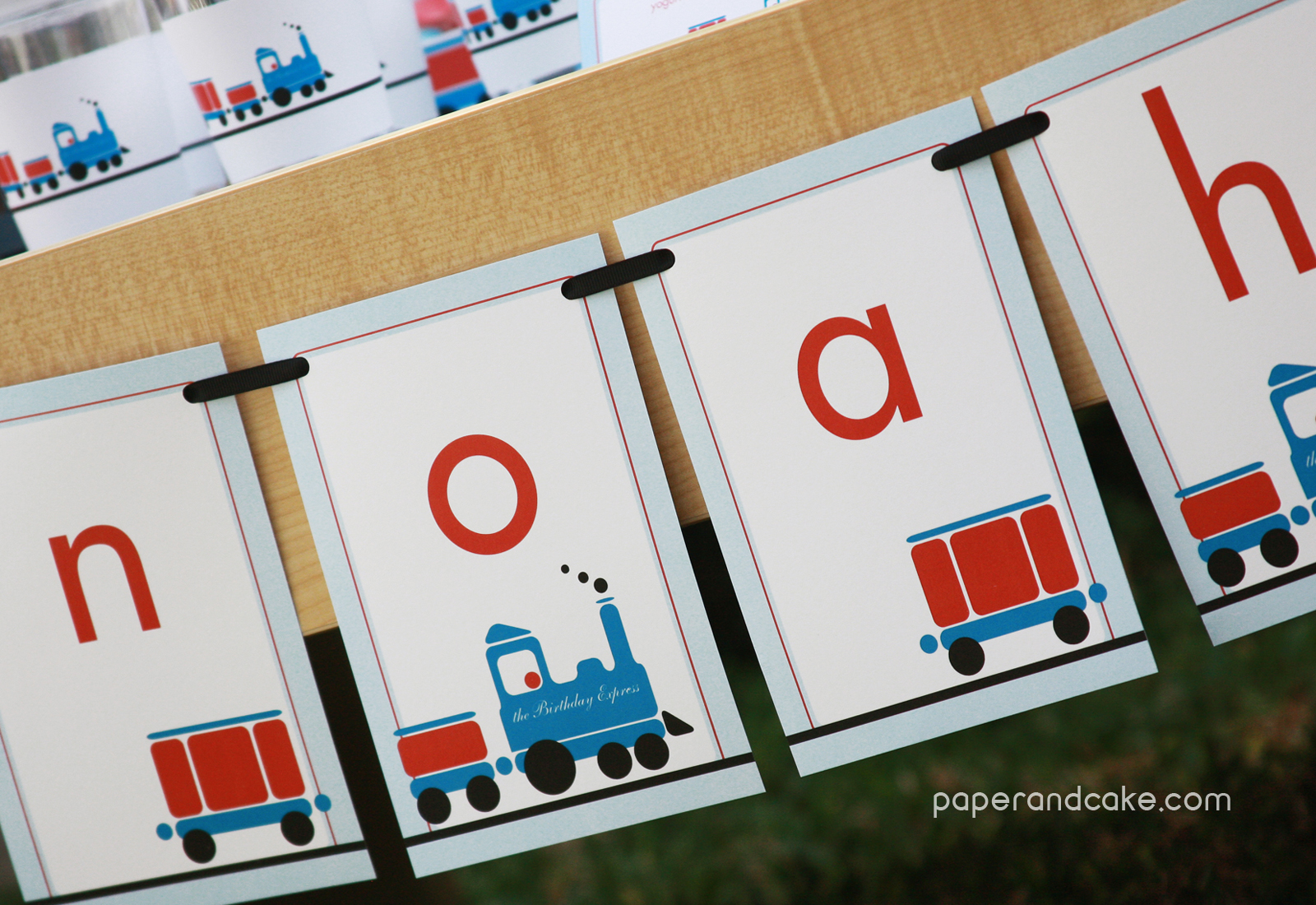 New Party All Aboard The Printable Train Birthday Set
