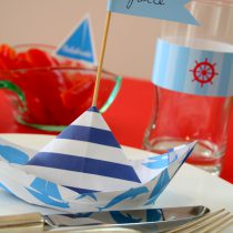 Sail Away Nautical Printable Birthday Party