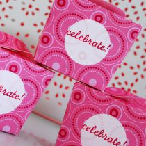Pink Polka Dot Printable Birthday Party