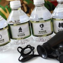 Green Camo Adventure Printable Birthday Party