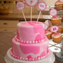 Pink Camo Adventure Printable Birthday Party
