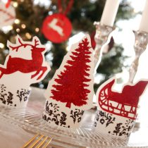 Deck the Halls Printable Holiday Party and Tablescape