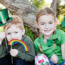 St. Patrick's Day Printable Photo Booth Props