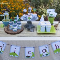 Dinosaur Dig Printable Birthday Party