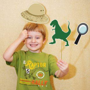 Dinosaur Printable Photo Booth Props