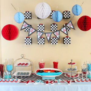 Race Car Printable Birthday Party