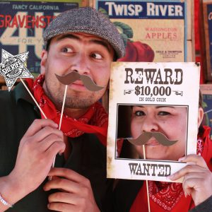 Wild West Photo Booth Props