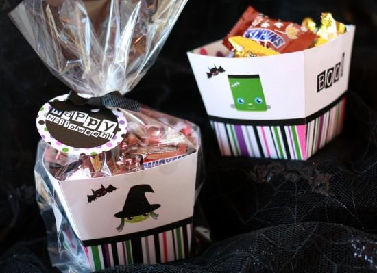 trick or treat free halloween printable