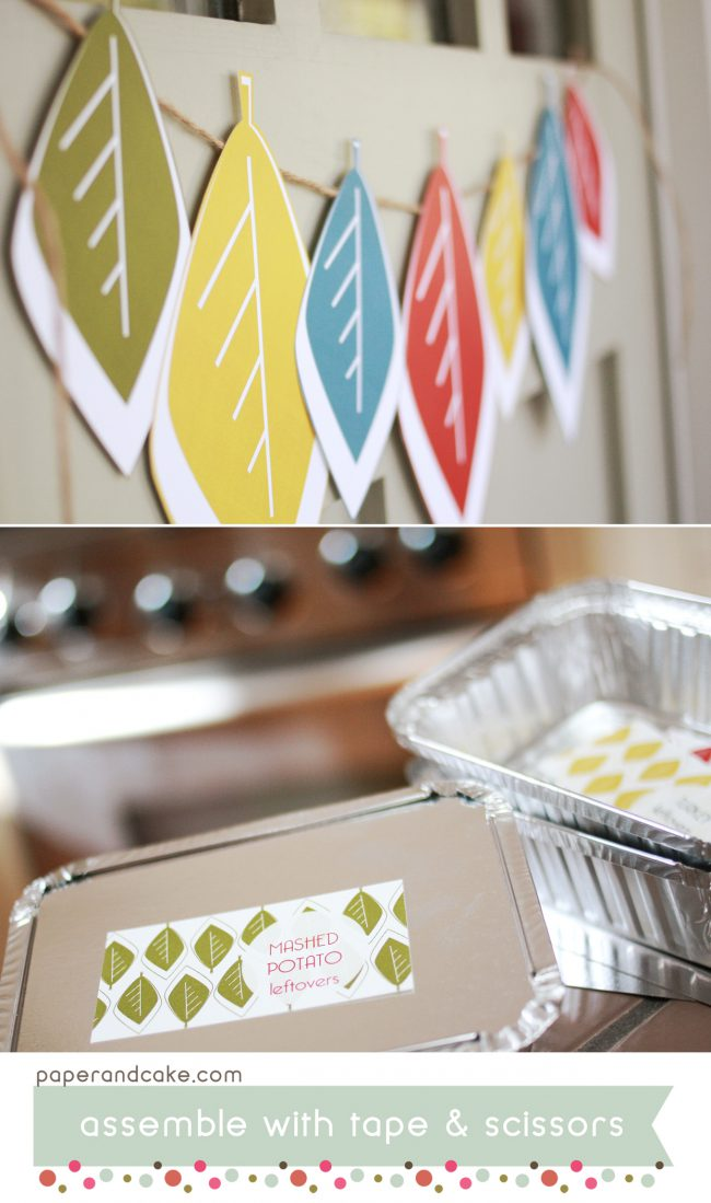 Modern Fall Printable Party