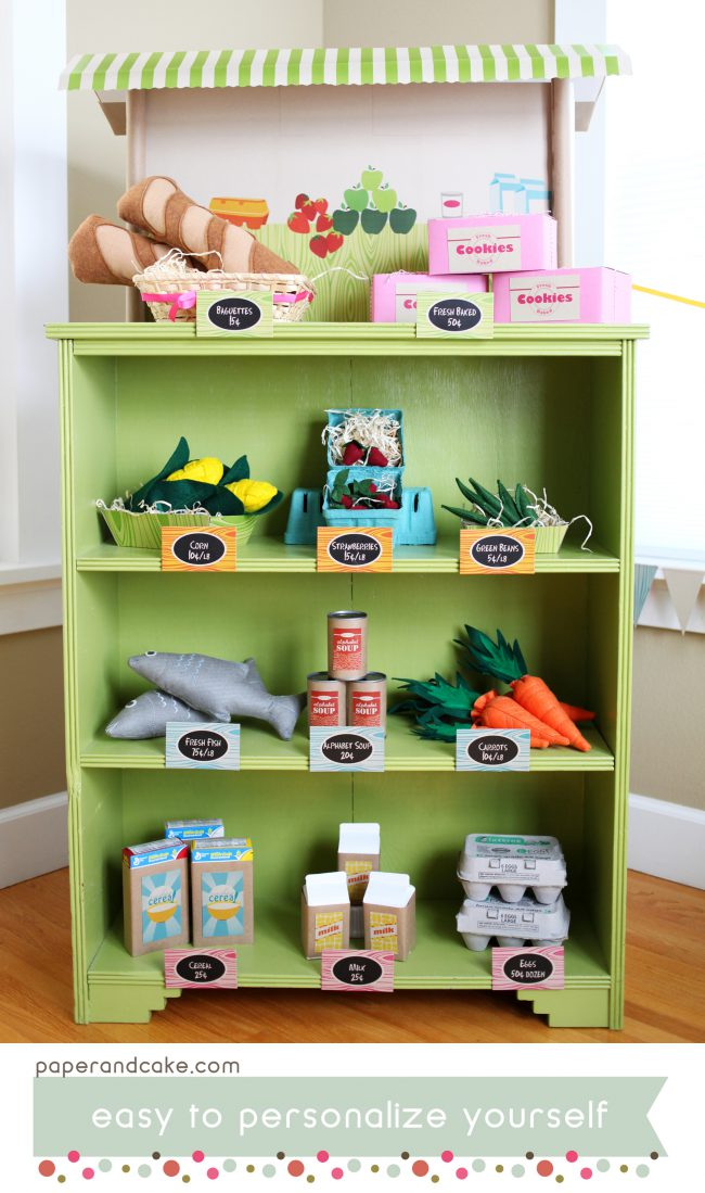 Grocery Store Printable Birthday Party & Playdate