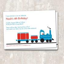 Train Invitations