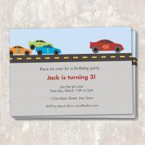 Race Car Invitations