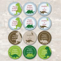Dinosaur Dig Cupcake Picks