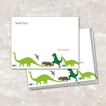 Dinosaur Dig Thank You Notes