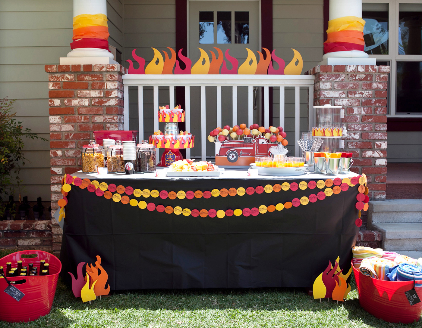 P&C real life party: Jack's Firetruck Birthday! - Paper ...