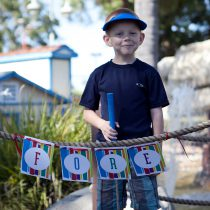 Mod Stripe Printable Birthday Party