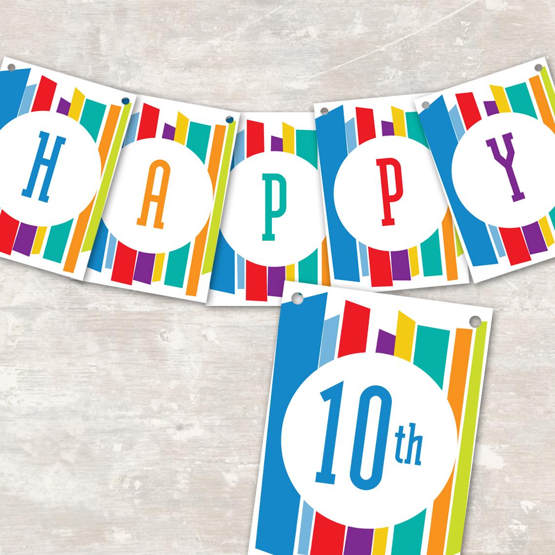Free Printable Happy Birthday Signs | www.imgkid.com - The