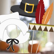 Thanksgiving Printable Photo Booth Props
