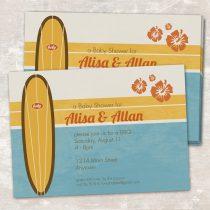 Vintage Surf Invitations