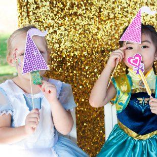 Princess Photo Booth Props
