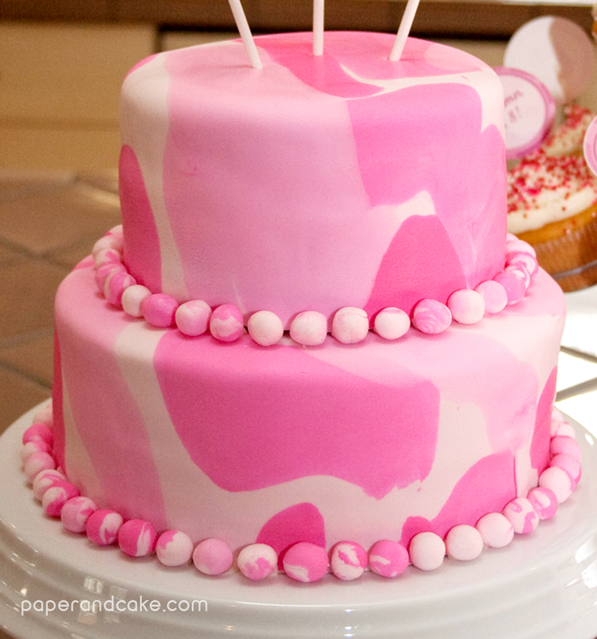 P&C Real Life Party: Pink Camouflage - Paper and Cake Paper and Cake