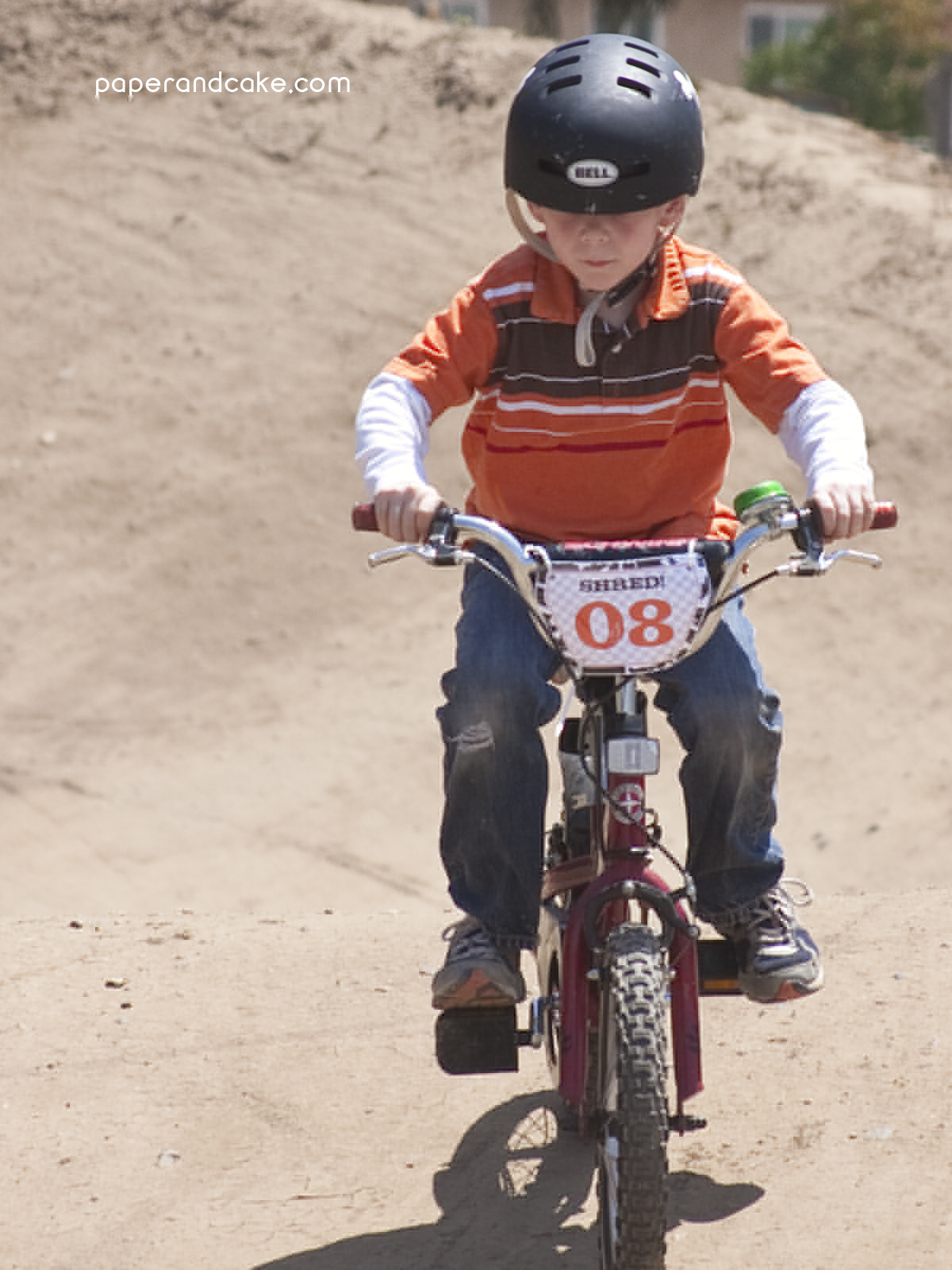 Bmx Dirt Bike Printable Birthday Party Paper And Cake