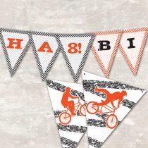 BMX Pennant Banner