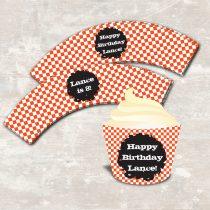BMX Cupcake Wrap