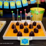 NEON Roller Skate PRINTABLE Party Customized brownie pops