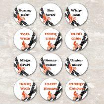 BMX Cupcake Picks