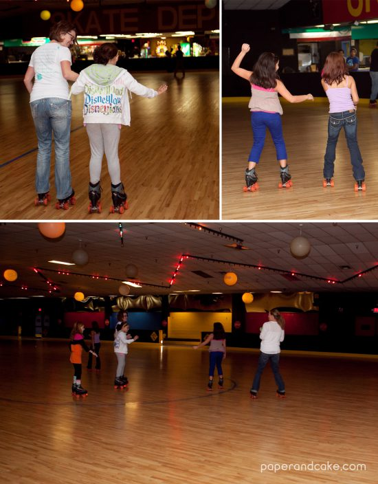 NEON roller skate party {real life party} - Paper and Cake ...