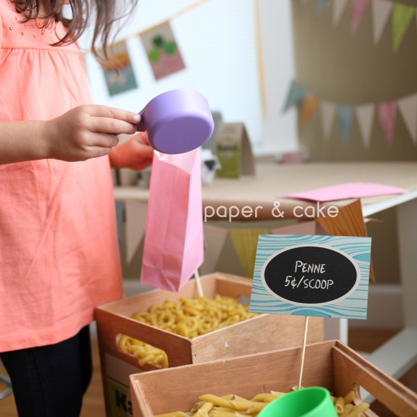 Grocery Store Party Amp Playdate Paper And Cake Paper And Cake
