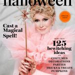 Martha Stewart Halloween Caramel Corn with Pepitas magazine cover