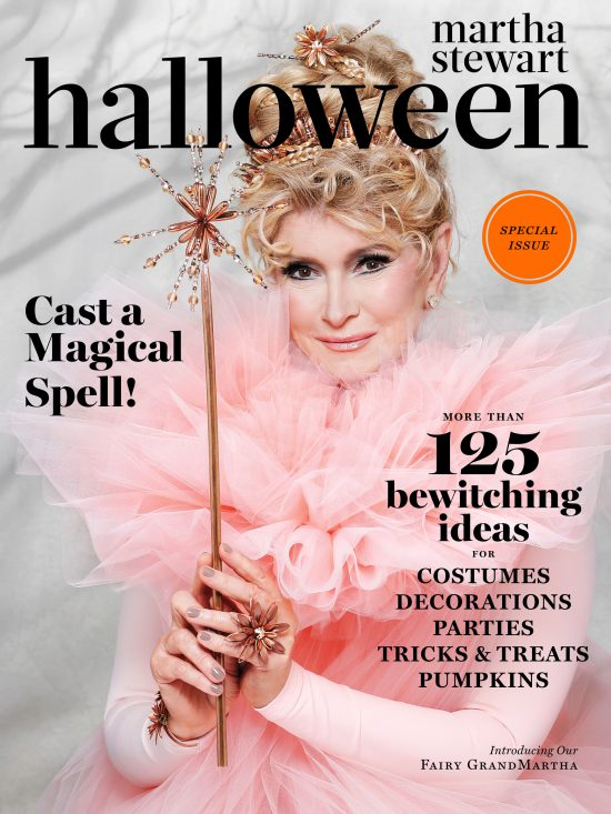 Martha Stewart Halloween Caramel Corn with Pepitas magazine cover