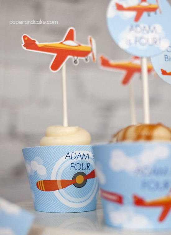 new party release: Airplane Birthday Printable Party ...