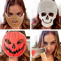 Horror Halloween Printable Photo Booth Props