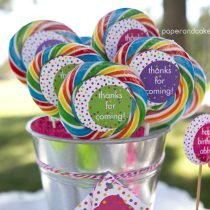 Polka Dots Printable Birthday Party