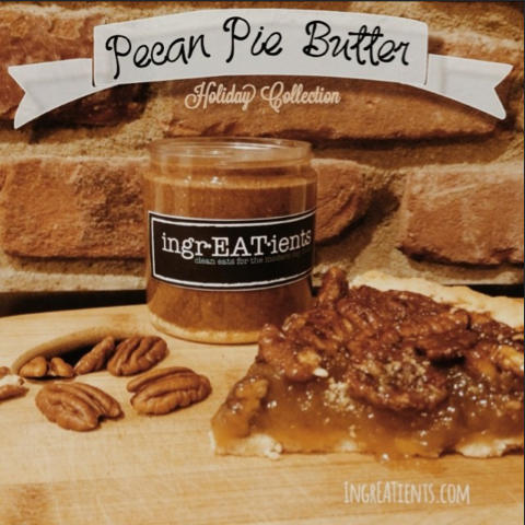bizz buzz ingrEATients all natural nut butter pecan pie butter holiday collection giveaway