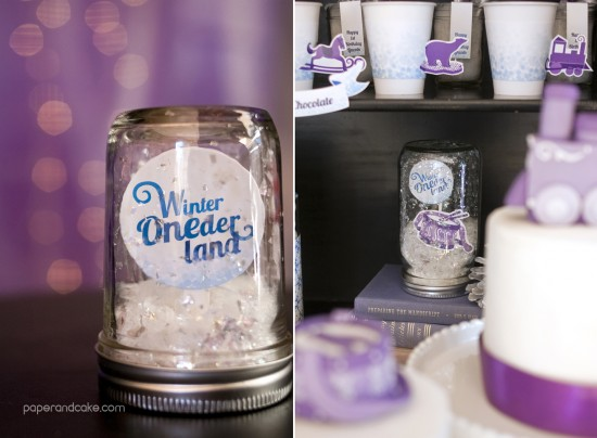 Winter ONEderland Printable Baby's First Birthday