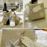 paper and cake holiday easy and moder gift tag  book page tags