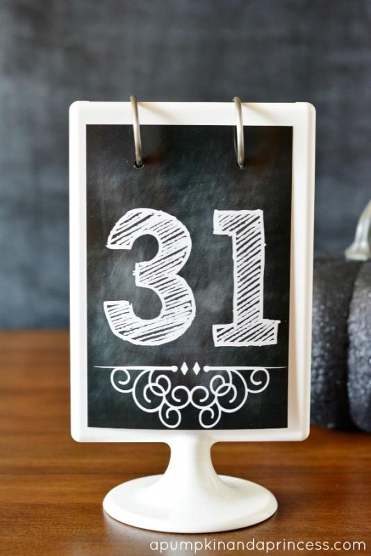 Printable-numbers