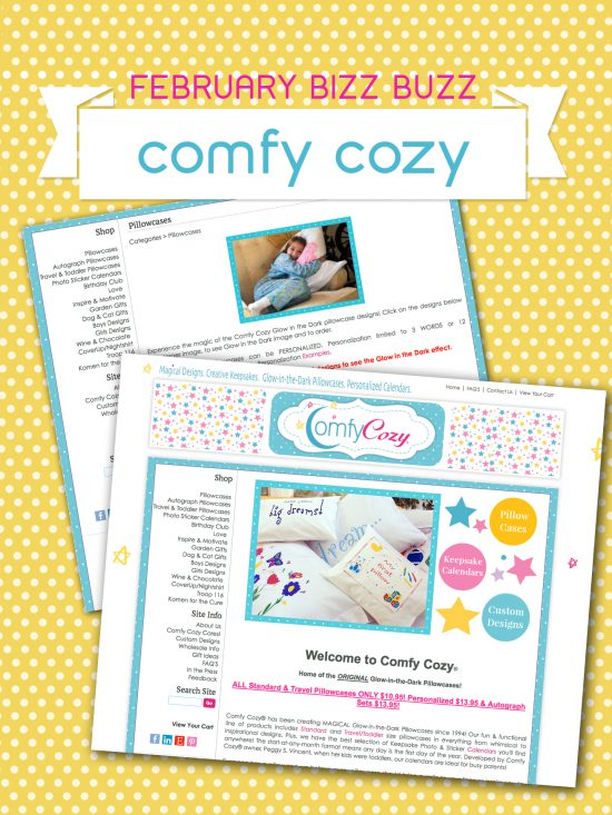 Paper & Cake small business feature story Comfy Cozy
