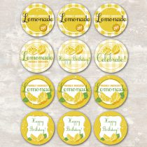 Lemonade Cupcake Picks