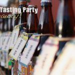 beer party giveaway from paper & cake
