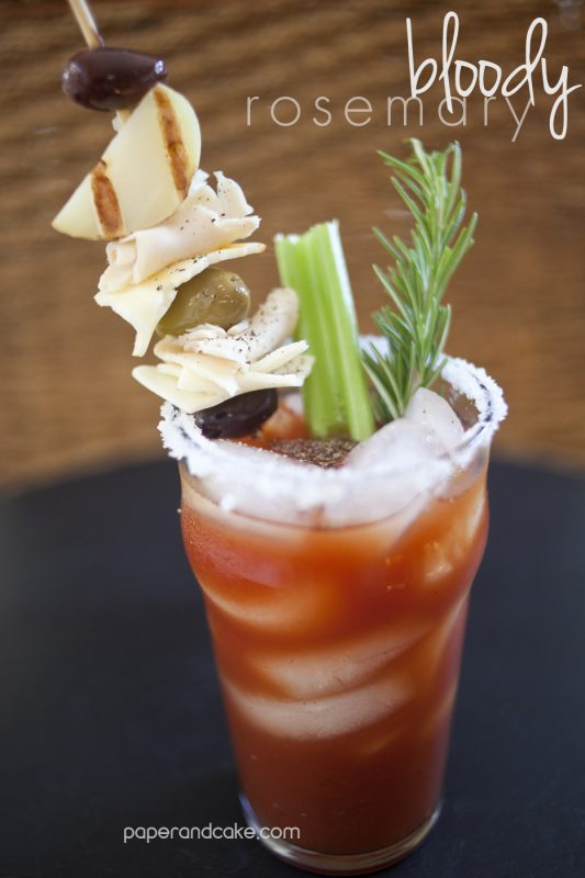 bloody rosemary recipe from Paper & Cake