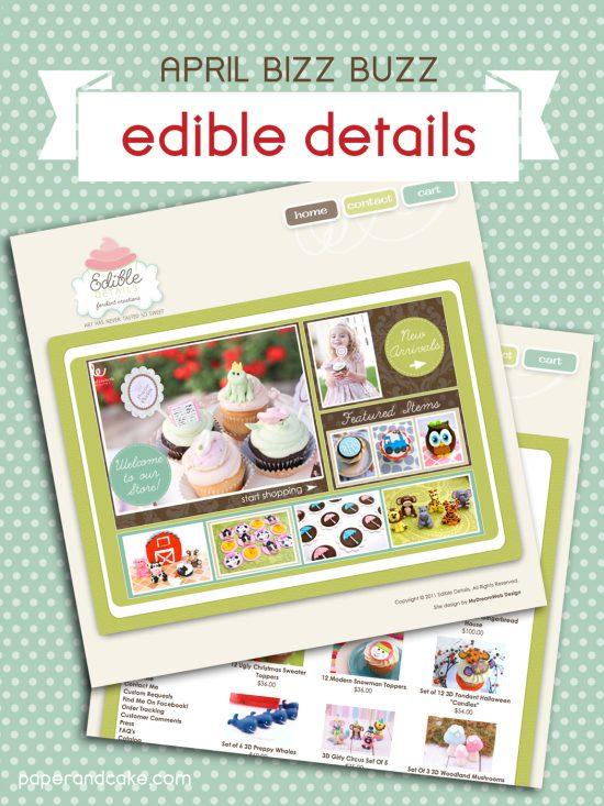 Bizz Buzz small business feature: Edible Details